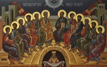 Rusaliile sau Pogorârea Duhului Sfânt